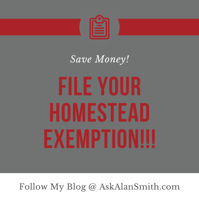 Know Your Property Taxes | Your Homestead Exemption